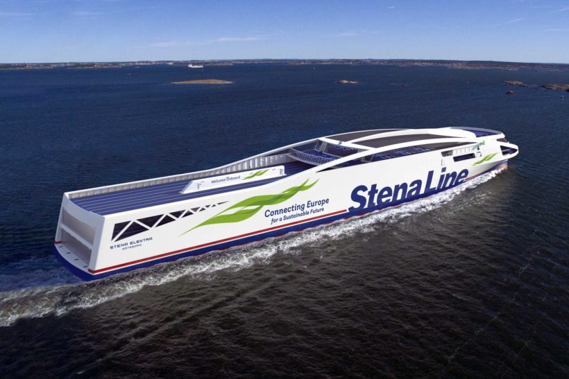 Stena Line accelerates fossil-free shipping to reduce emissions by 30% by 2030