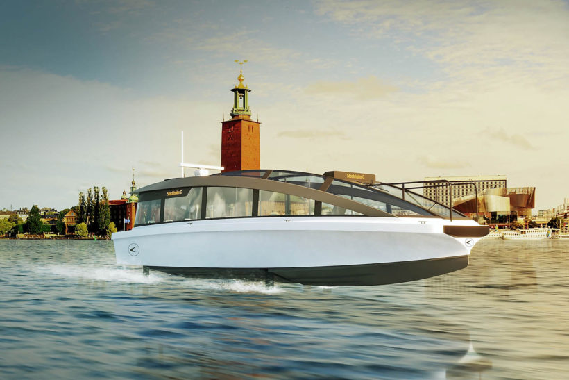 World's fastest all-electric passenger ship to launch in Stockholm