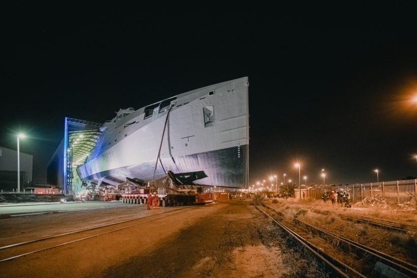 Damen Shipyards Cape Town launches SA Navy's first  Multi-Mission Inshore Patrol Vessel