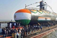New Indian submarine INS Karanj commissioned