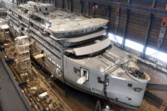 SH Minerva cabin designs revealed as structure completed ahead of schedule