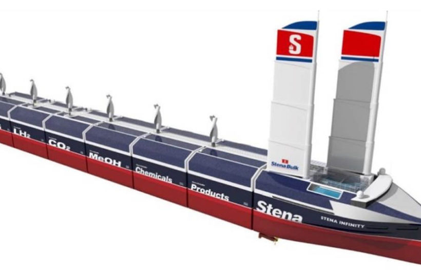 Stena Bulk unveils pioneering hybrid