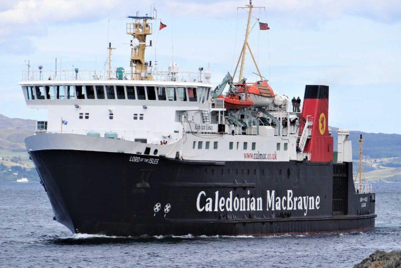 CalMac reshuffle their fleet