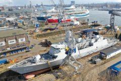 Damen Shiprepair Amsterdam readies HNLMS Evertsen for voyage to Japan