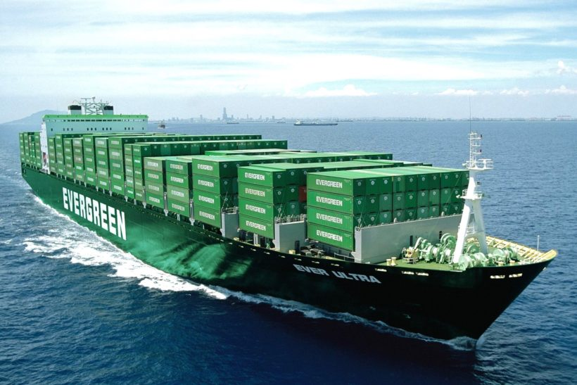 Evergreen Marine says it will keep using megaships