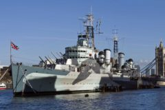 HMS Belfast reopens in July and celebrates 50 years on the Thames