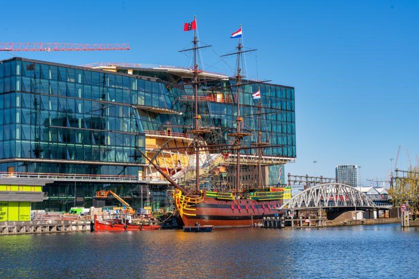 VOC Amsterdam back at National Maritime Museum following maintenance at Damen yards