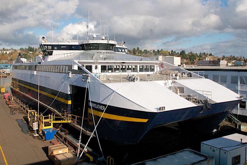 Alaska fast ferries for Spain