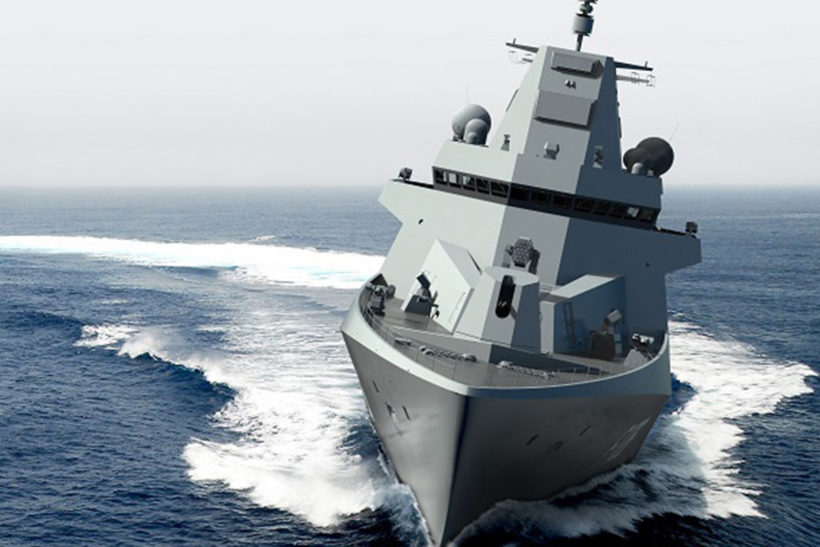 Damen contracts Hamburg Ship Model Basin for new frigate tests