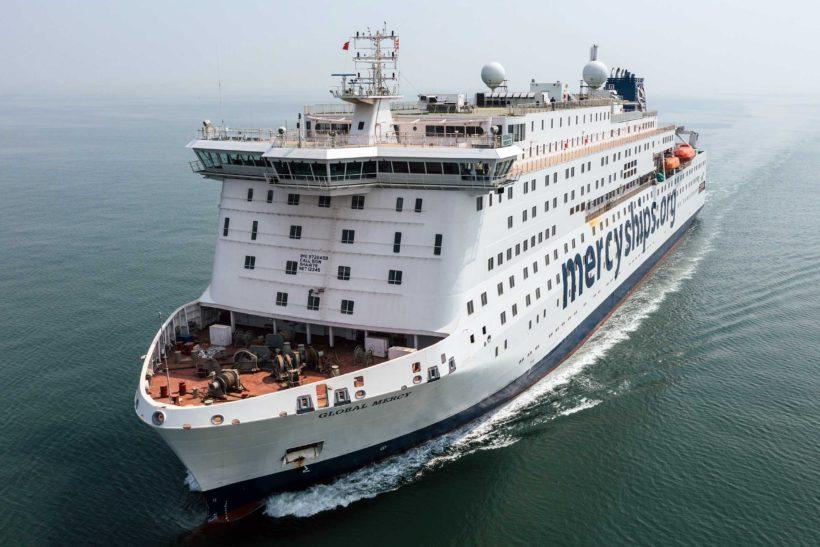 World's largest civilian hospital ship Global Mercy passes final sea trials