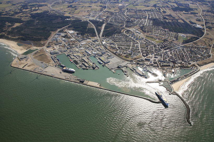 New facilities and green port development for Port of Hirtshals