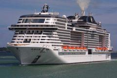MSC Virtuosa debuts in Southampton