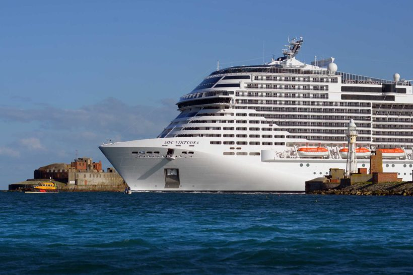 Portland Port welcomes the UK's first domestic cruise call in 14 months