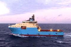 Maersk Supply Service to install the first hybrid battery on an Anchor handling vessel