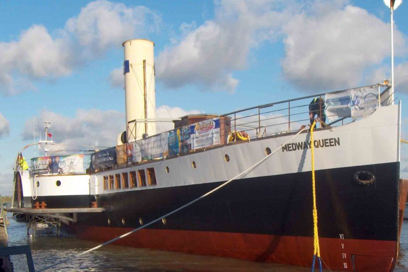 Medway Queen has reopened to the public