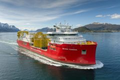 Nexans Aurora goes out on sea trial