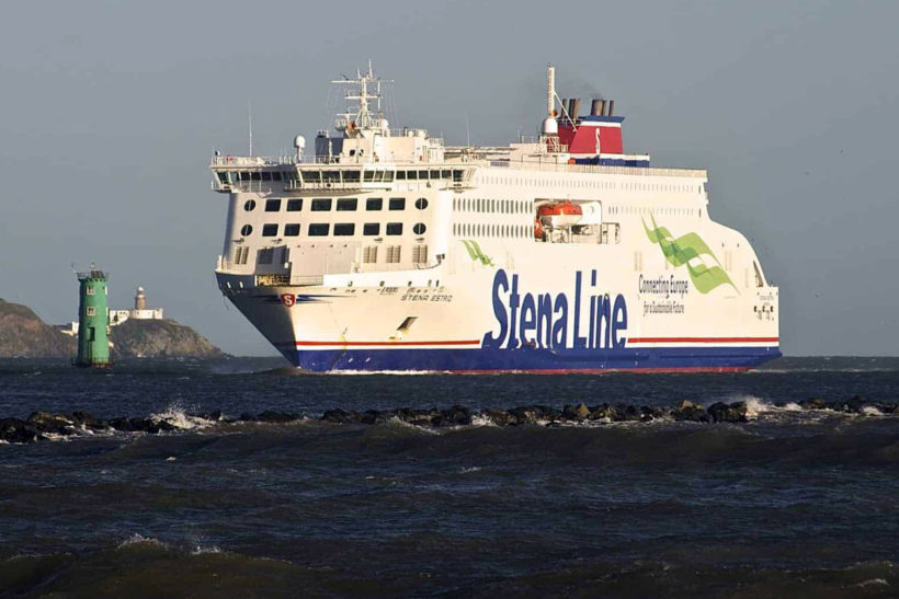 Stena Estrid is returning to the Holyhead-Dublin route