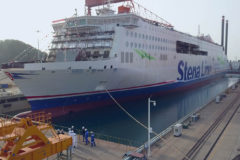 Stena Line's new ferry 'floats out' in China