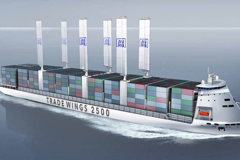 Innovative 2,500 TEU Container Vessel Trade Wings 2,500 from VPLP Design