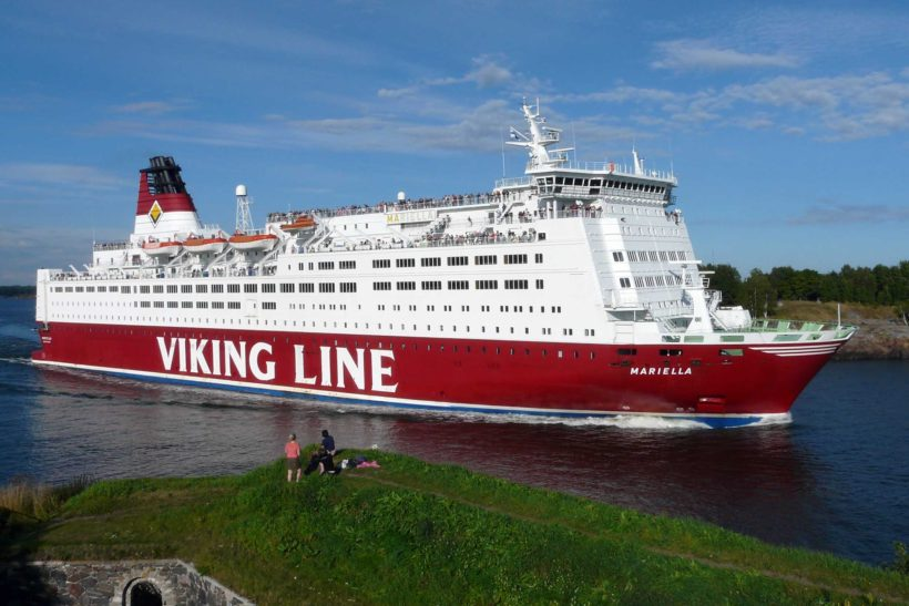 Viking Line's Mariella heads to the Med