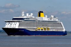 Saga Cruises' first round Britain cruise since early 2020 departs