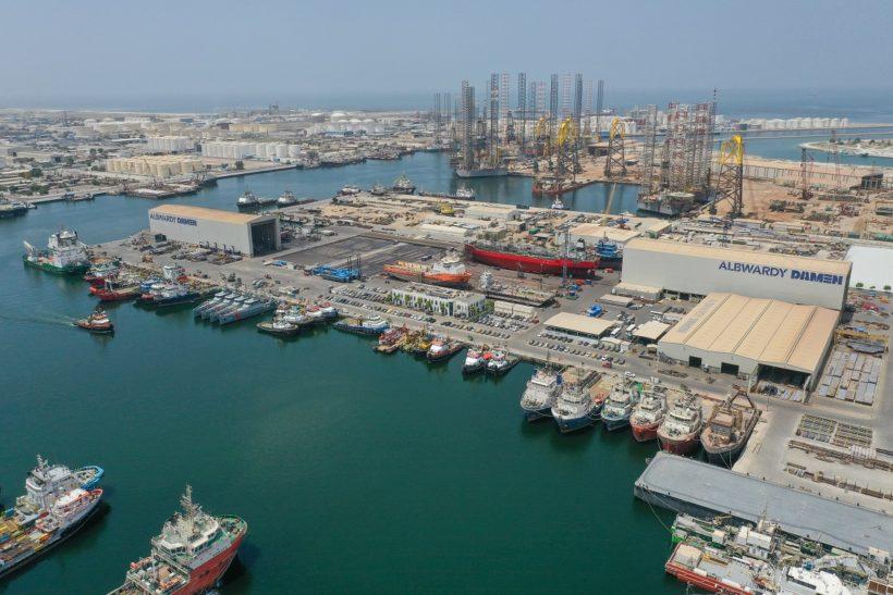 Albwardy Damen recognised as Best New Building Yard at ShipTek Awards 2021