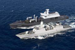 Damen Shipyards Galati lays keel of Combat Support Ship