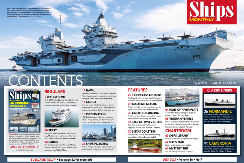 Ships Monthly July issue out now