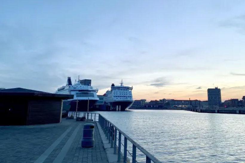 DFDS ferries in Copenhagen will be receiving shore power