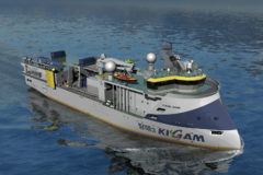 Ulstein designs research vessel for KIGAM