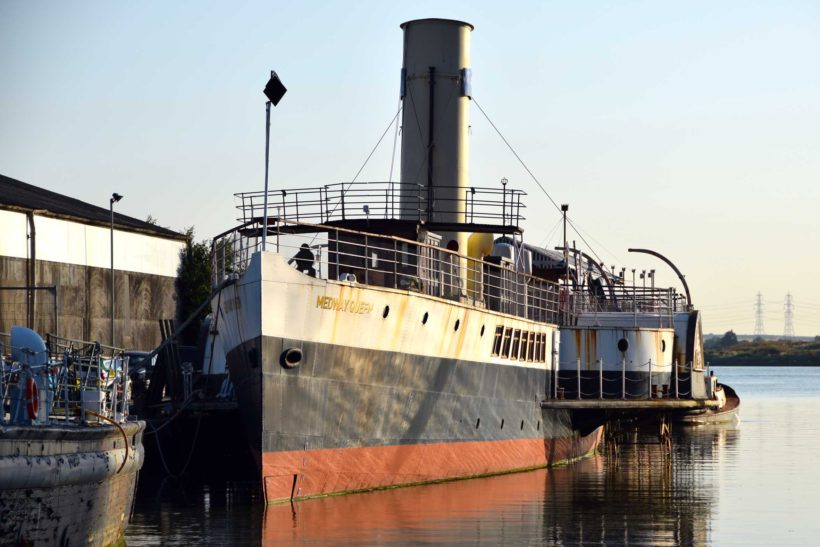 PS Medway Queen sets sail for Ramsgate