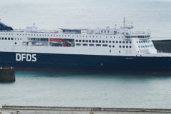 Successful berthing trials for new ferry at Dover