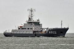 Damen Shipyards Den Helder completes modernisation of HNLSM Snellius