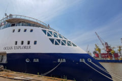 Delivery of the next X-BOW expedition cruise vessel from CMHI