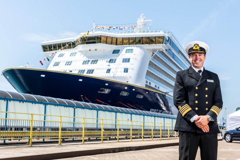 New Saga ship Spirit of Adventure named in Portsmouth