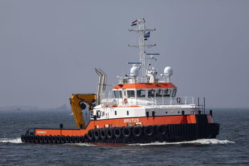 First of new Damen Shoalbuster 3514 SD DP2 class named in ceremony at Damen Shipyards Hardinxveld