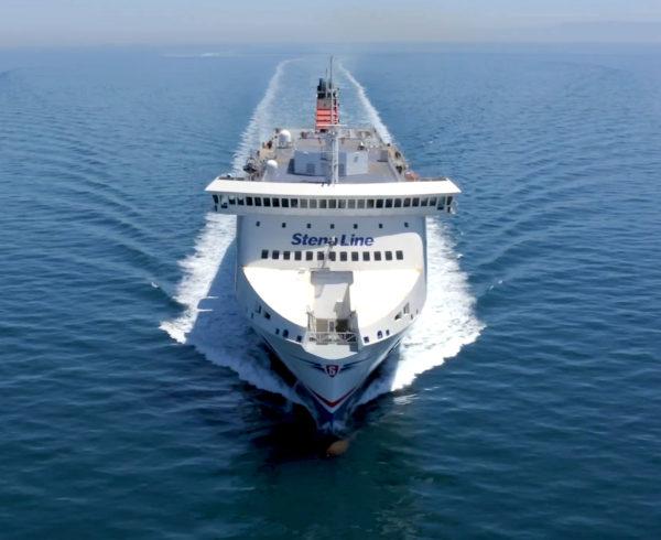 Stena Line's New Ferry Stena Scandica Completes its Maiden Voyage
