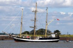 Tall ship Pelican of London on tour