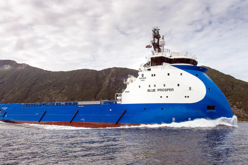 ESVAGT and Ulstein to convert two platform supply vessels to ERRV battery hybrid vessels