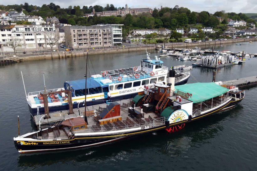 Paddle Steamer Kingswear Castle begins fund raising