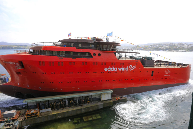 Edda Wind's latest Operations Vessel launched