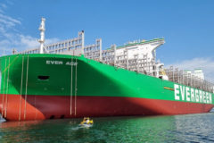 Ever Ace takes title of biggest container ship in the world