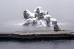 Full Ship Shock Trials on USS Gerald R. Ford
