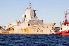 Norwegian navy frigate off to scrapyard