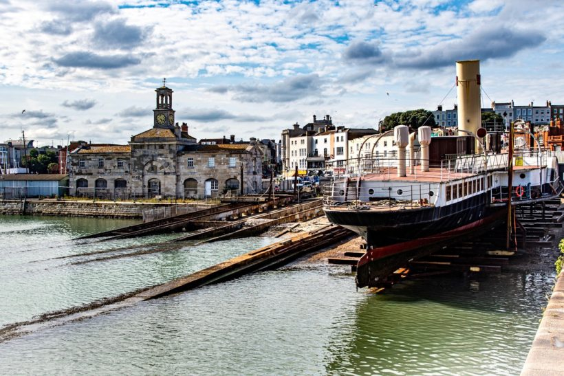Medway Queen goes to Ramsgate for maintenance