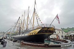 Carbon neutral plans for SS Great Britain