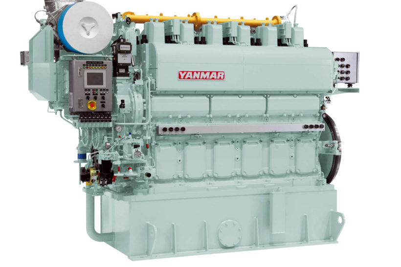 Yanmar Marine Dual Fuel Engines for LNG-Fueled Large Coal Carrier