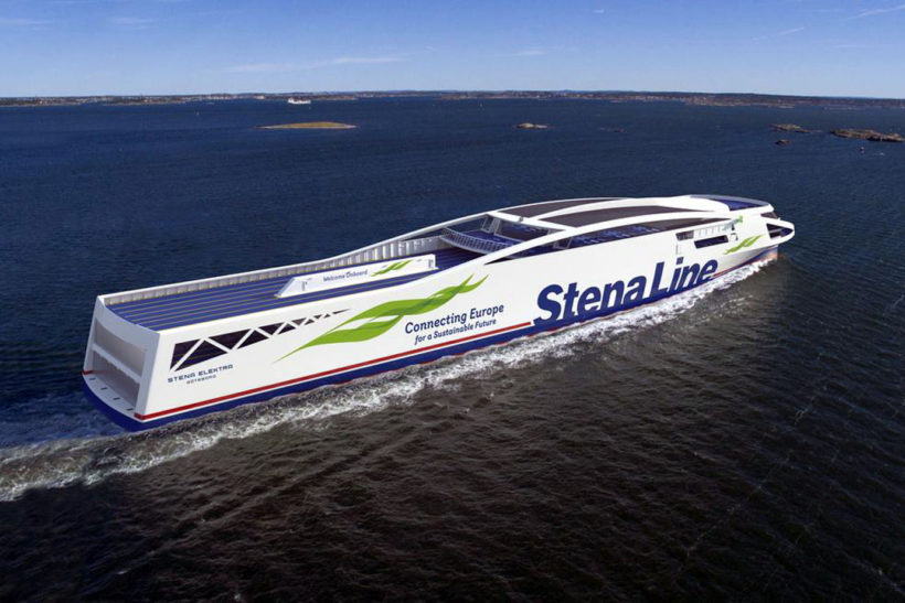 Stena Line and Frederikshavn sign historic agreement for two fossil fuel free ferries by 2030