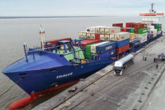 World's first bunkering of containership with renewable synthetic natural gas