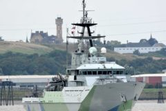 Second life officially begins for HMS Severn after Thames recommissioning
